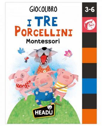 Giocolibro I Tre Porcellini Montessori