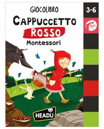 Giocolibro Cappuccetto Rosso Montessori